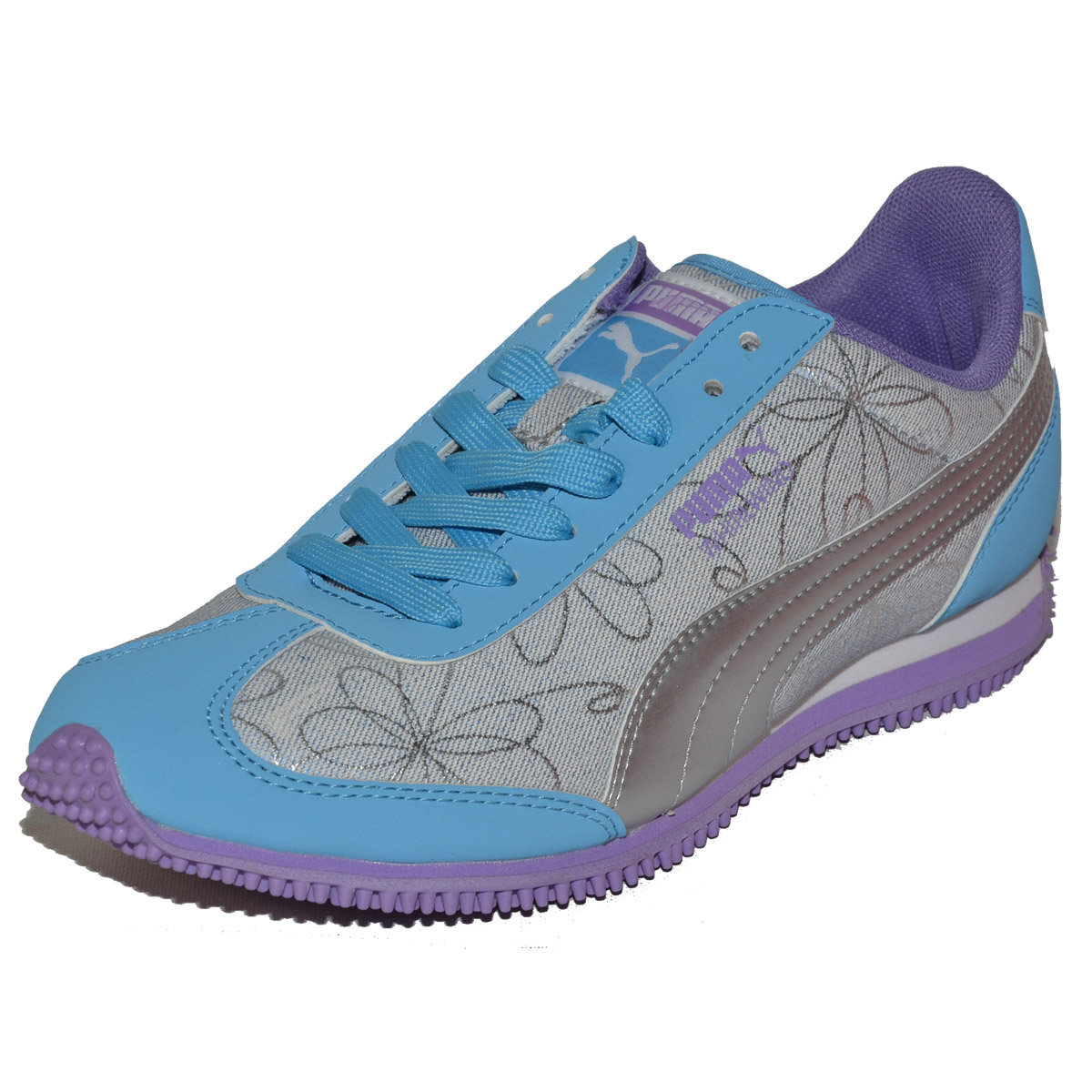 PUMA Whirlwind Swirl JR Junior Youth Big Kids Girls Shoes ...