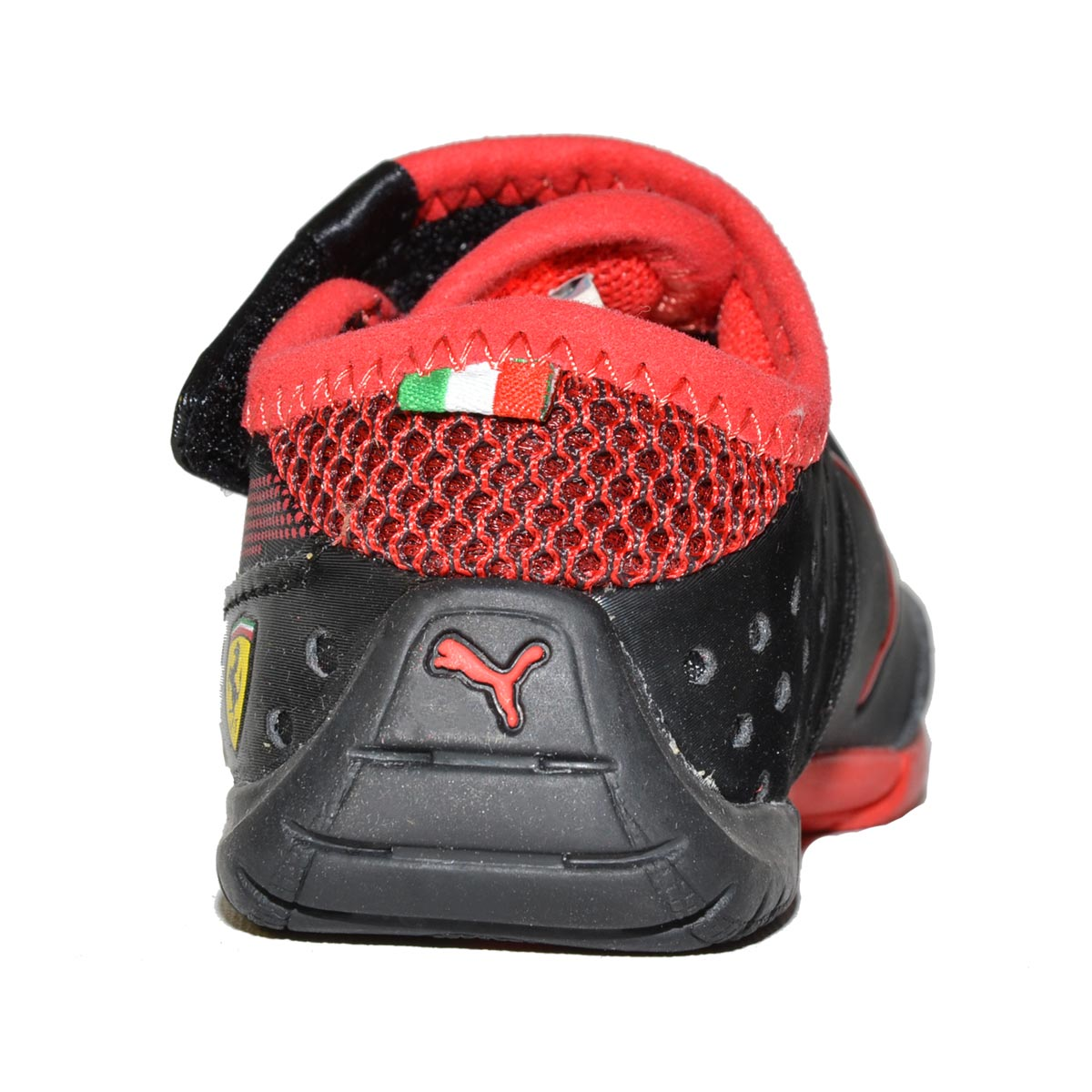 ferrari school kids basket pre sale heart patent sneakers puma