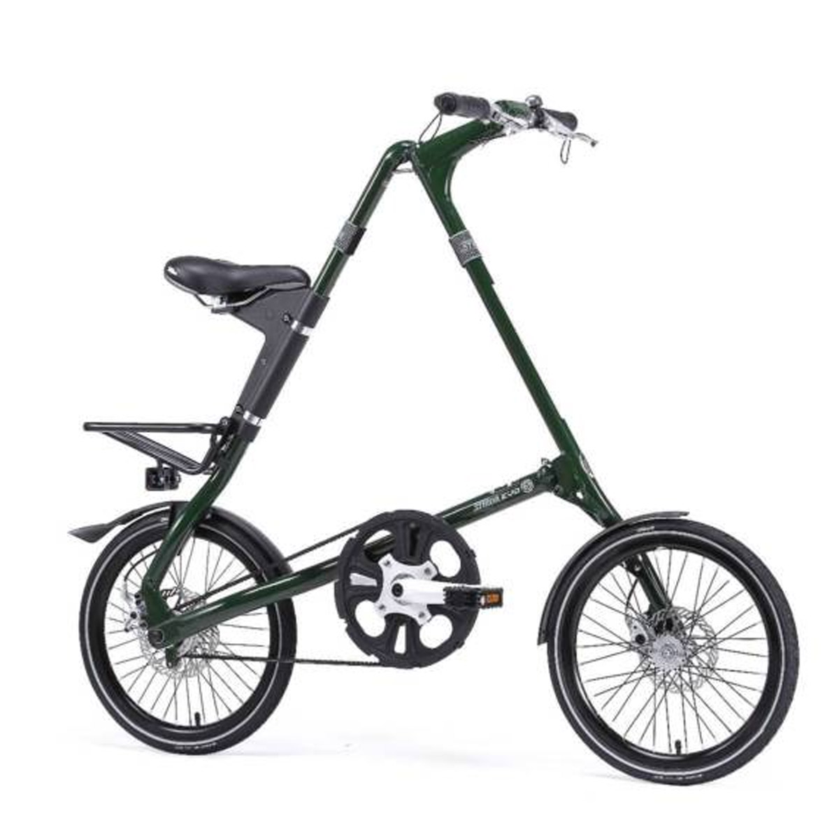 Strida Evo 18 Belt Driven Bicycle English Green Bike Mycraze