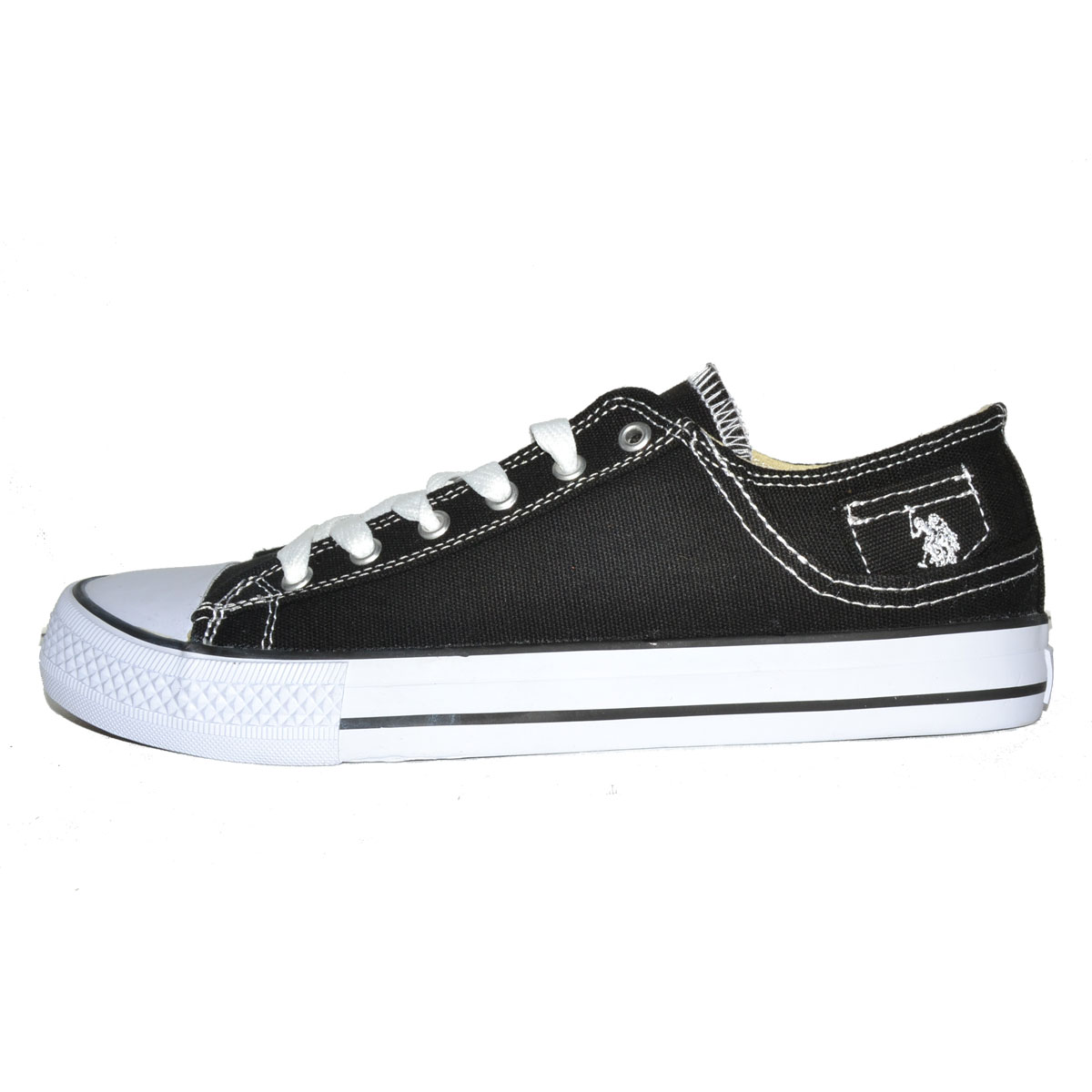 Mens Velcro Canvas Shoes
