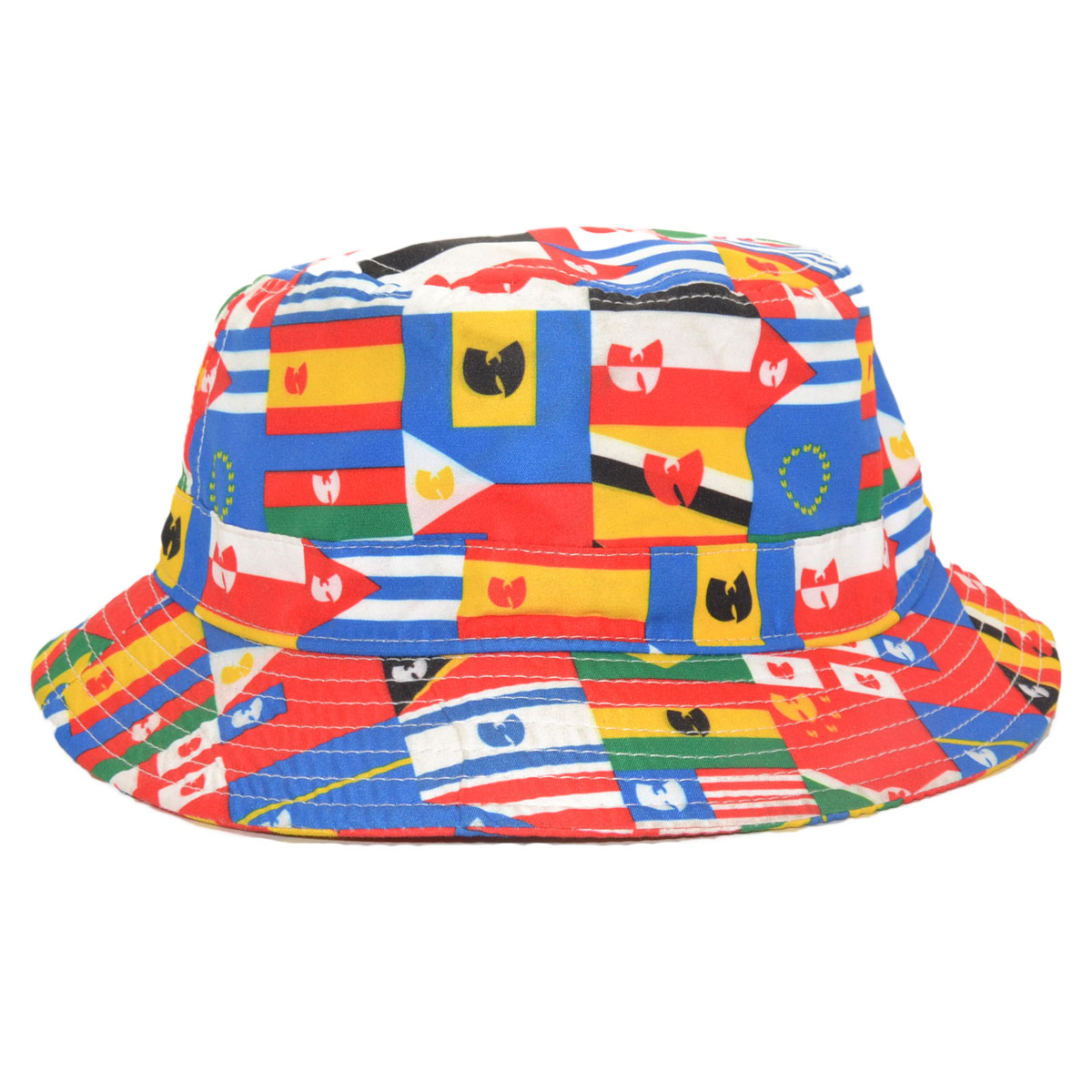 7c157bc5161 THE WU-TANG BRAND UN BUCKET HAT FLAGS OF THE WORLD - MyCraze