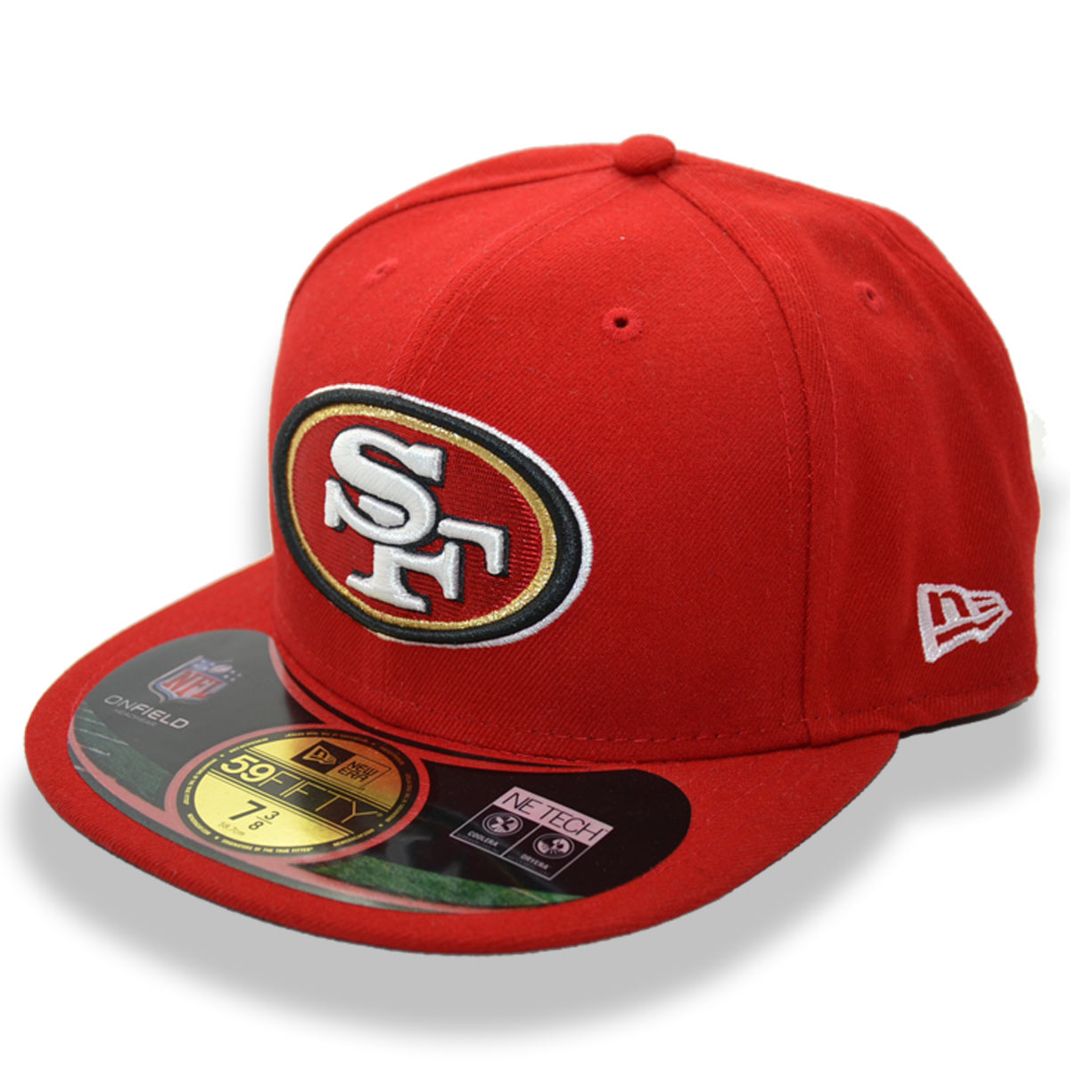 cheap for discount 6ea4f ddc73 Details about NEW ERA SF SAN FRANCISCO 49ERS NFL FITTED CAP 7 3 8 (58.7cm)