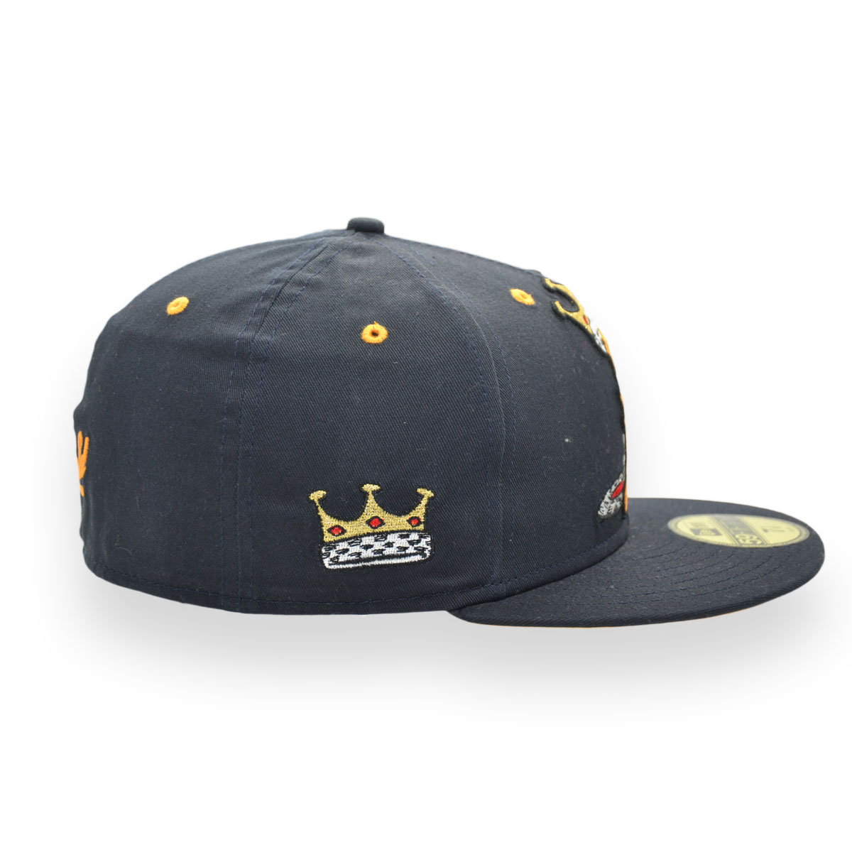 release date d93a7 cc043 ... coupon code for new era garfield king 59fifty navy fitted cap 7 1 8  56.8cm