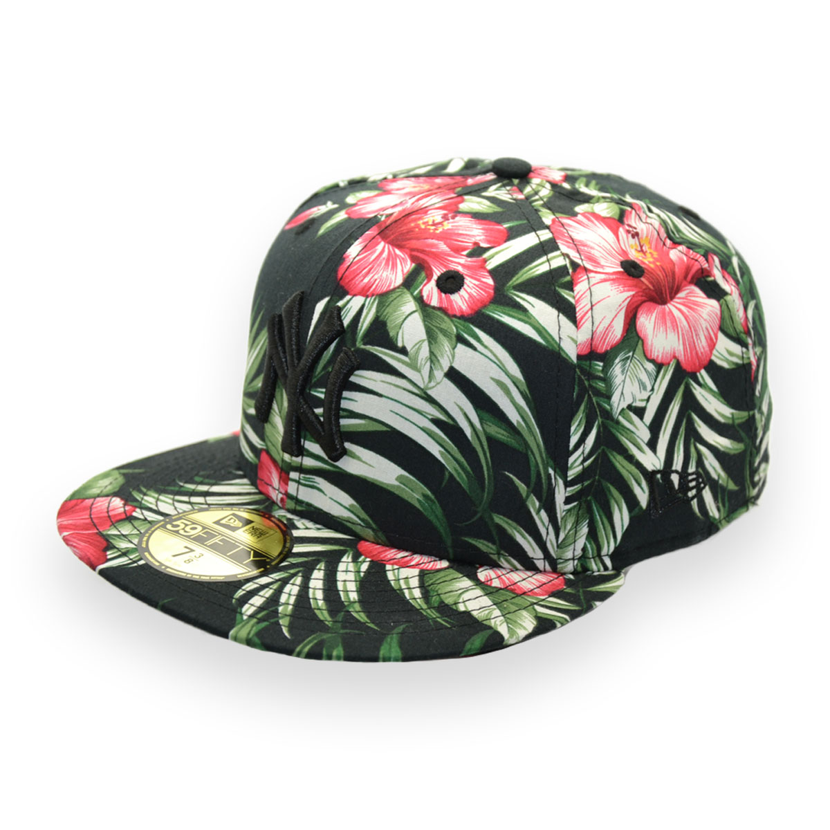 563c0b3af88 NEW ERA JAPAN NEW YORK YANKEES ALOHA FLORAL 59FIFTY MLB CAP - MyCraze
