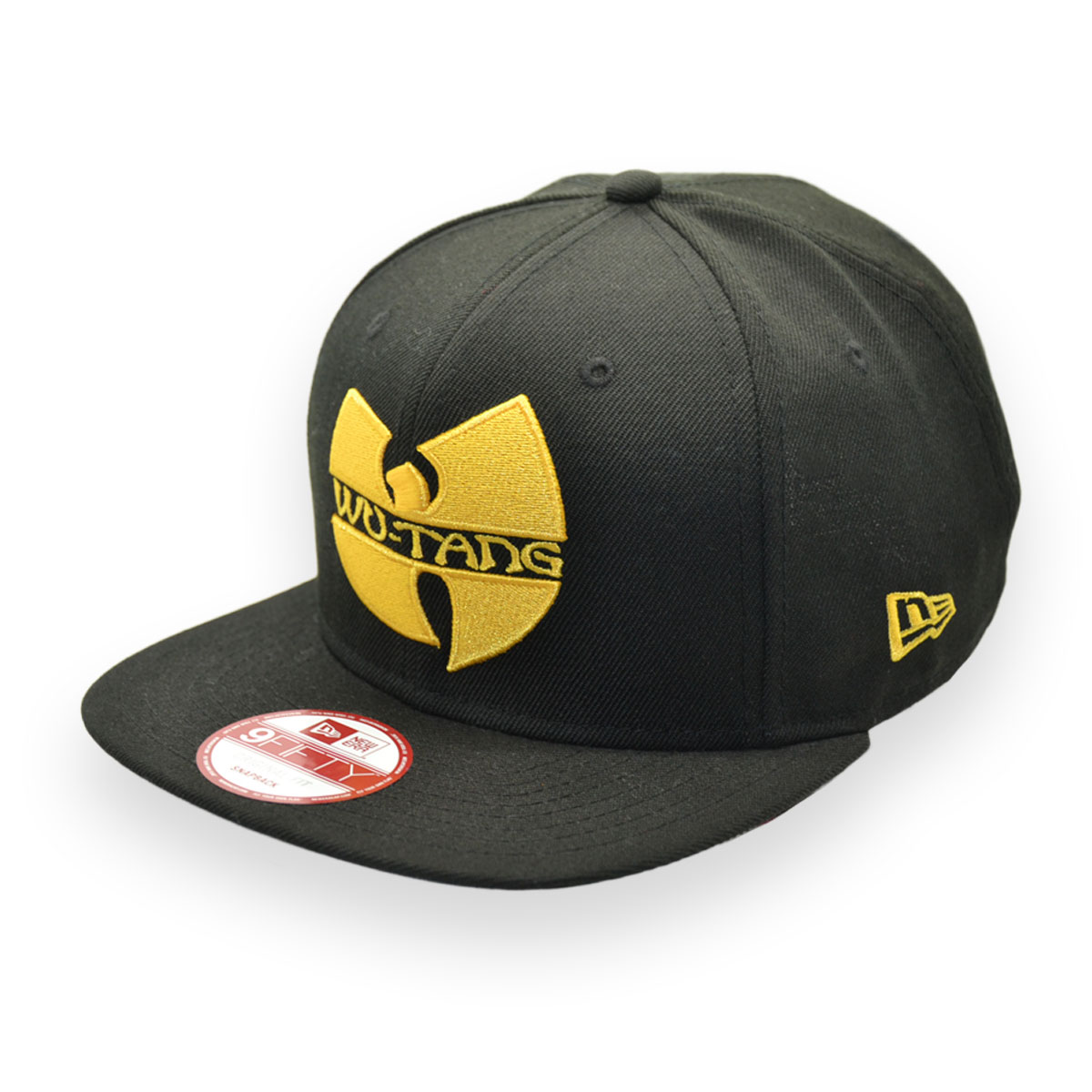 NEW ERA WU-TANG CLAN BLACK 9FIFTY SNAPBACK CAP - MyCraze 6e8b4cc56e6