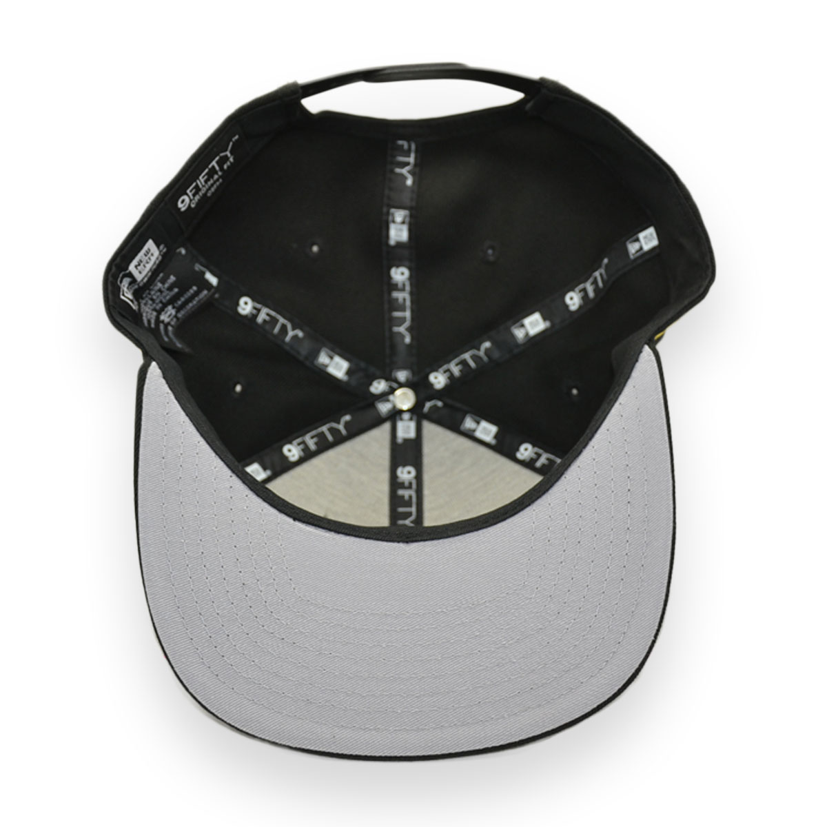59045fc19251c NEW ERA WU-TANG CLAN BLACK 9FIFTY SNAPBACK CAP - MyCraze