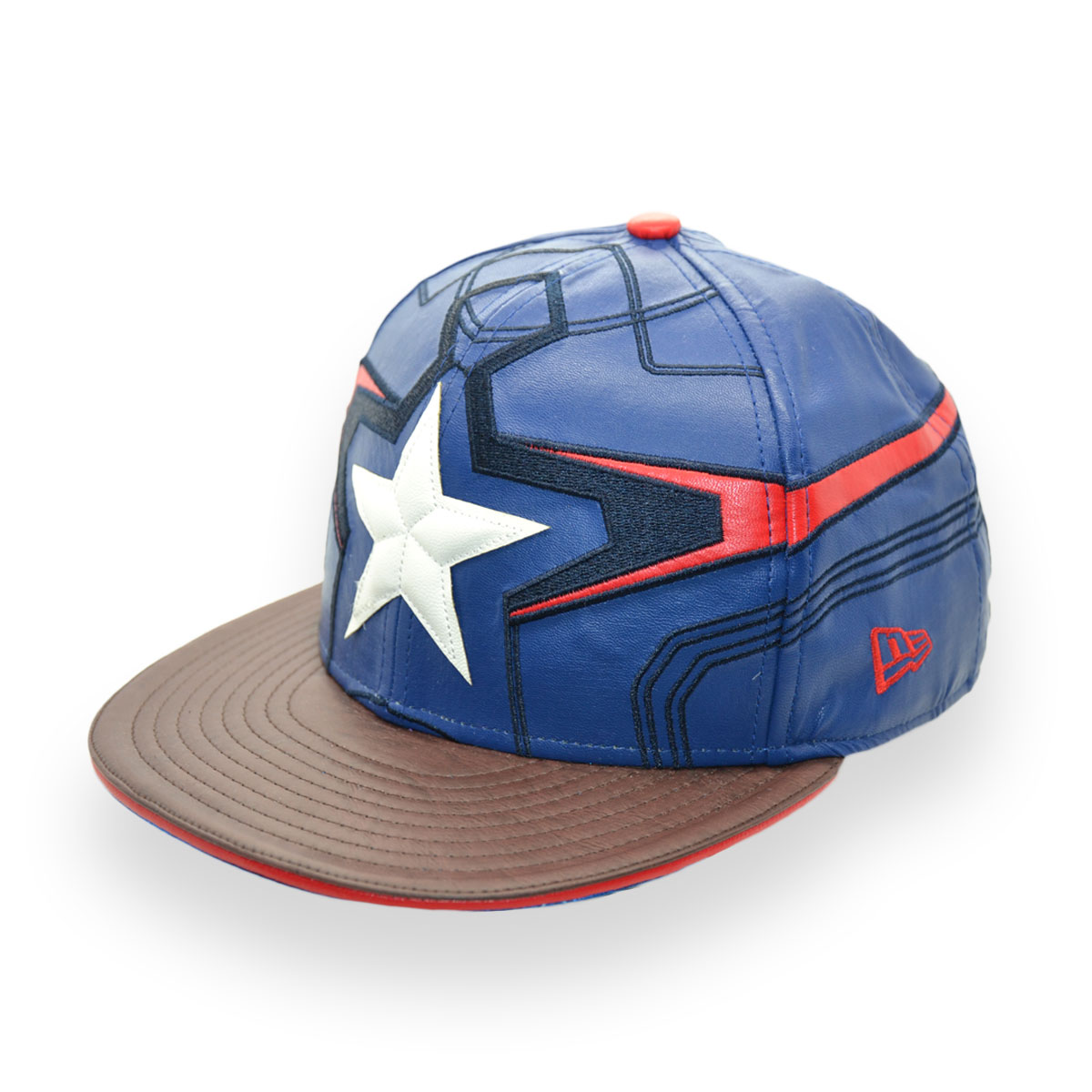 86fa29a5b5be8 NEW ERA AVENGERS AGE OF ULTRON MARVEL CAPTAIN AMERICA 59FIFTY CAP ...