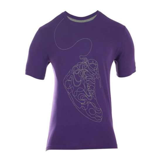 new concept 17a93 51653 Sale NIKE AIR JORDAN EMBROIDERY T-SHIRT PURPLE 413697-530 ...