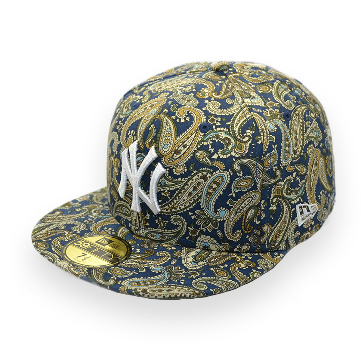 d9007701220 NEW ERA KOREA NEW YORK YANKEES NY MLB 59FIFTY PAISLEY CAP - MyCraze