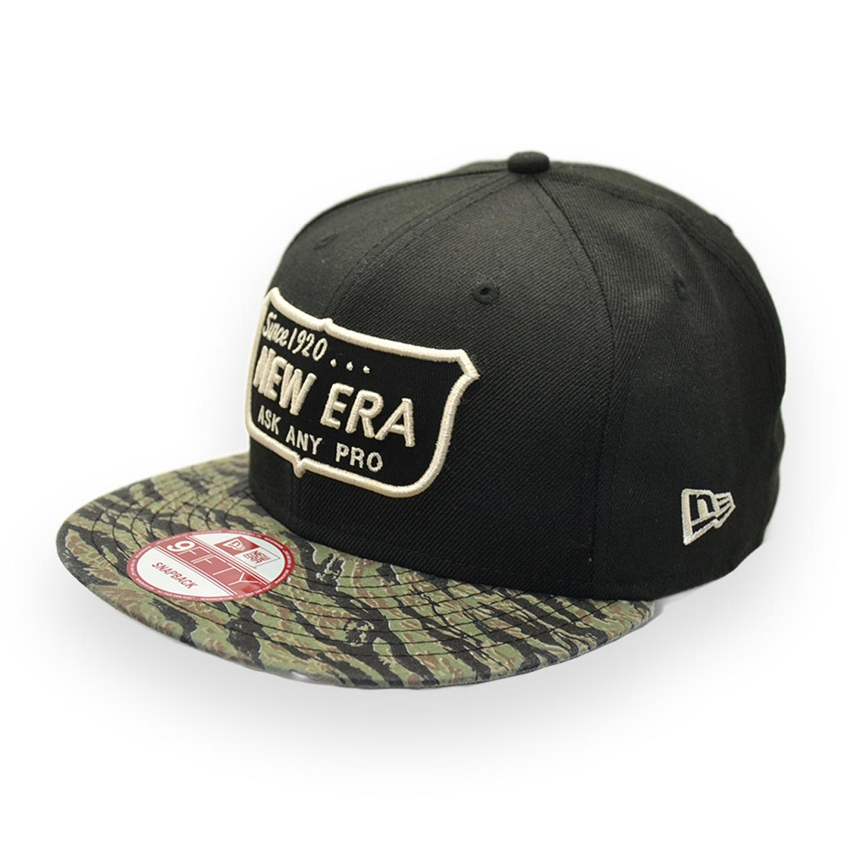 NEW ERA SINCE 1920 ASK ANY PRO 9FIFTY BLACK CAMO SNAPBACK CAP  7716a3fae7d3