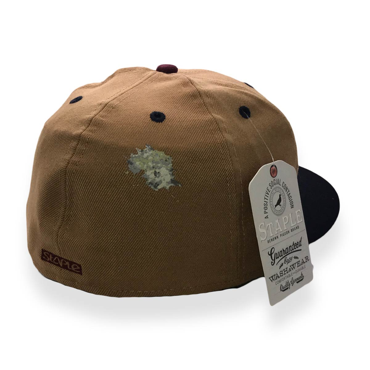 STAPLE X NEW ERA PIGEON 59FIFTY TAN MENS FITTED CAP - Last one left ... 990775aefce2