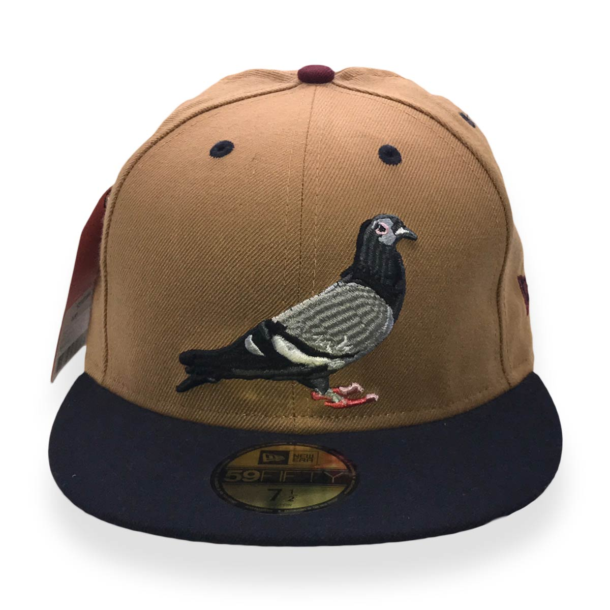STAPLE X NEW ERA PIGEON 59FIFTY TAN MENS FITTED CAP – Last one left fa36711350d4