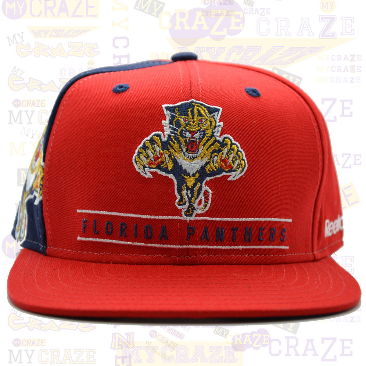 hot sale online fe5cb 2e72b ... uk florida panthers reebok nhl red snapback retro cap mycraze 7a93a  8a200