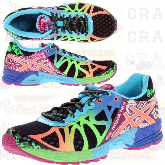 OUT OF STOCK Asics Gel Noosa Tri 9 Women's Running Shoes Sneakers ...