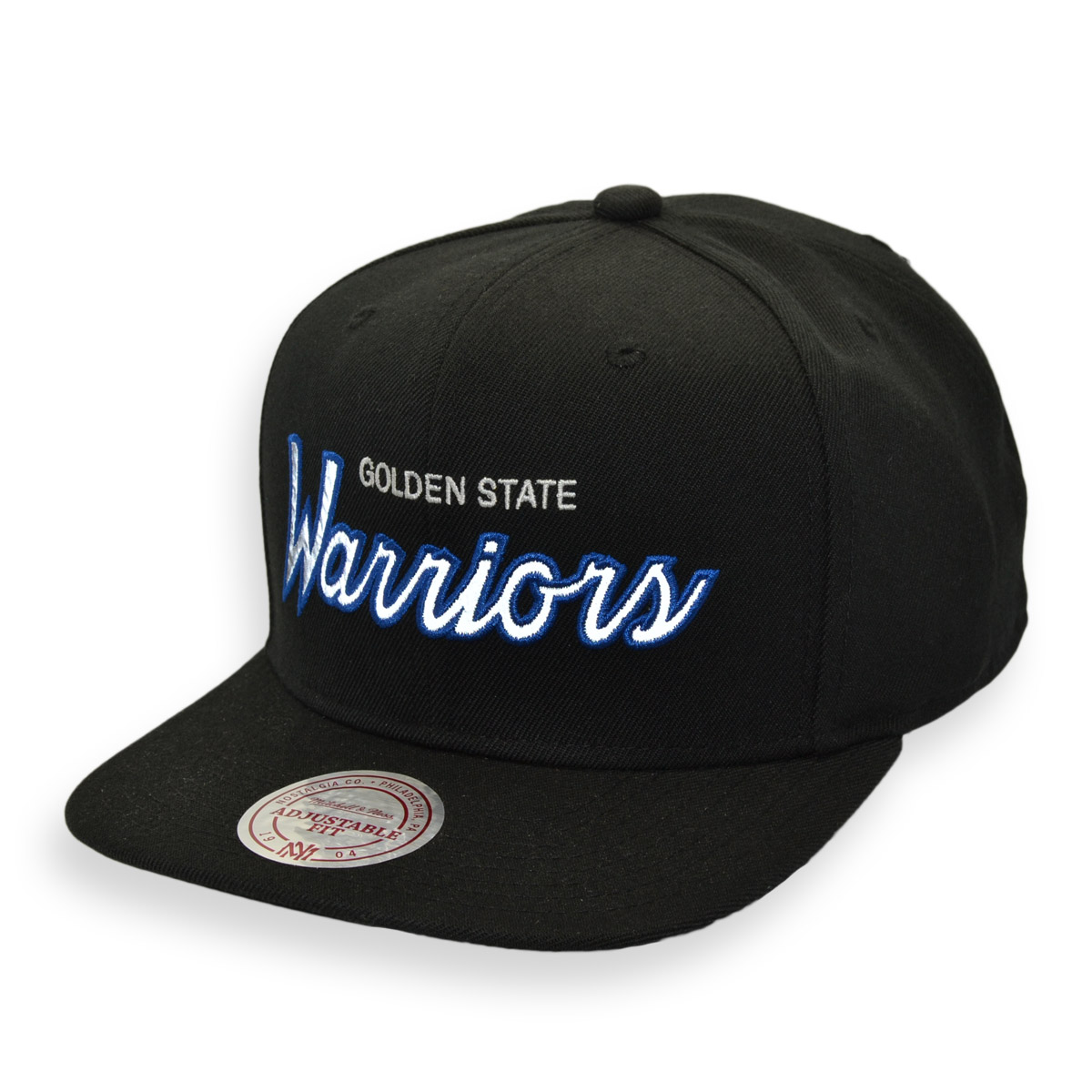 outlet store 6bf24 a0922 ... inexpensive mitchell ness golden state warriors reflective script snapback  hat cap mycraze 8f850 f8d10
