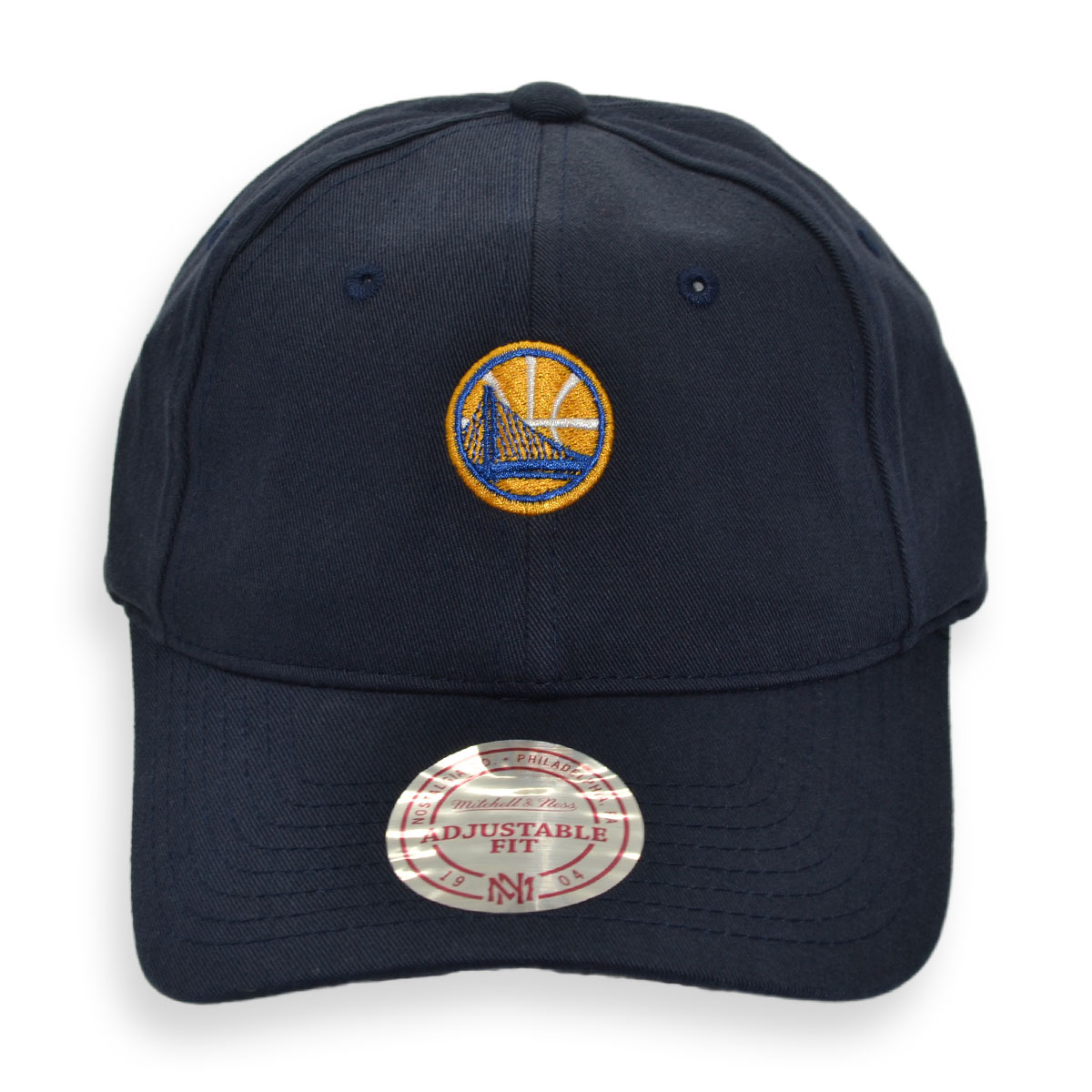 d5f7d3c2518 MITCHELL   NESS GOLDEN STATE WARRIORS WASHED COTTON STRAPBACK CAP ...