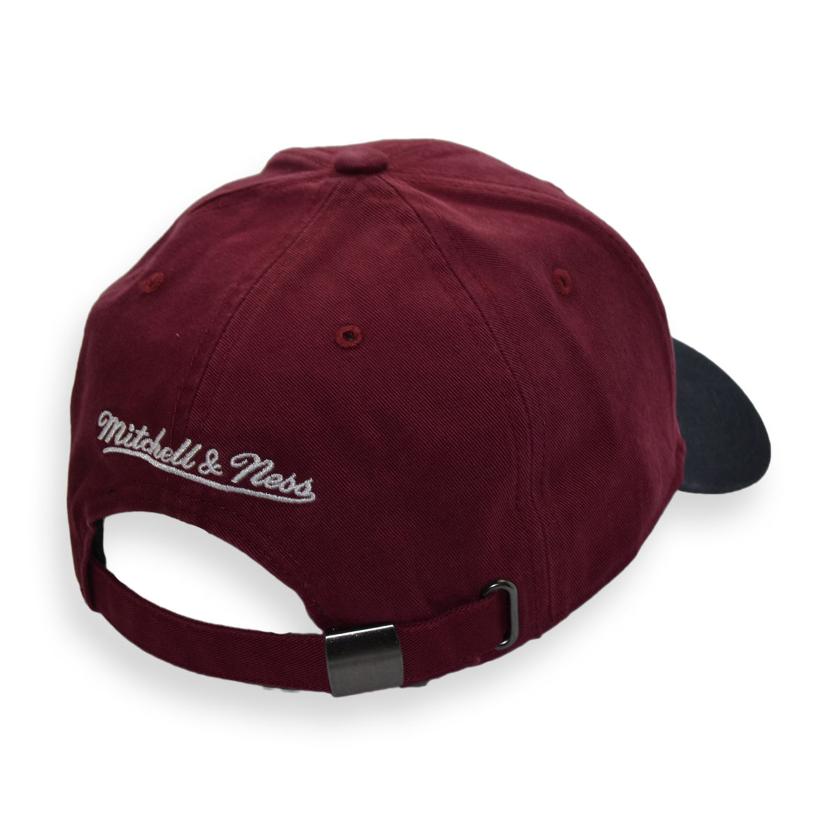 2d7bc26dd89 mitchell   ness cleveland cavaliers two tone wordmark strapback cap