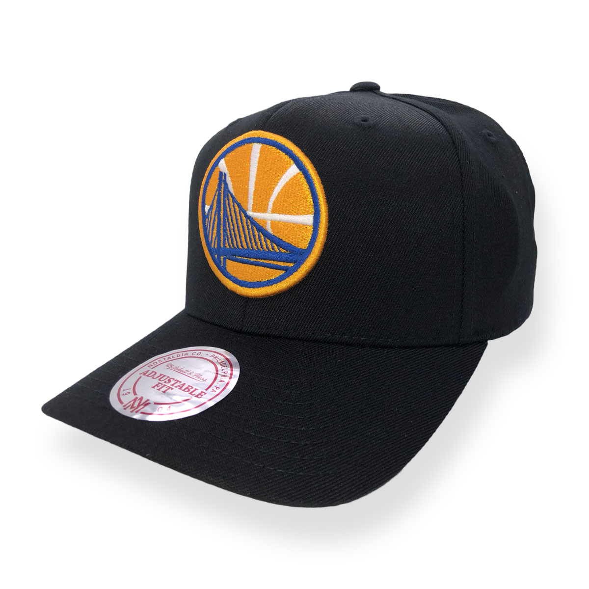 official photos 3db11 6dc0e MITCHELL   NESS GOLDEN STATE WARRIORS FLEXFIT 110 SNAPBACK CAP ...