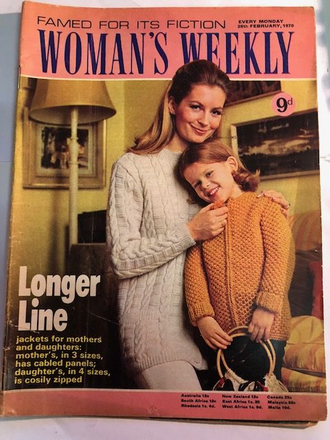 Womans Weekly Magazine Womans Vintage 28th Feb 1970 Retro Patterns
