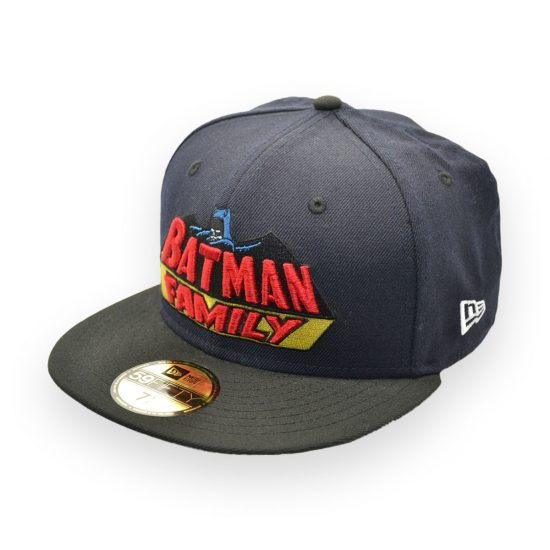 c9c4b1630cb Sale NEW ERA DC COMICS BATMAN FAMILY 75TH ANNIVERSARY FITTED CAP 59FIFTY  7-1 4 ...