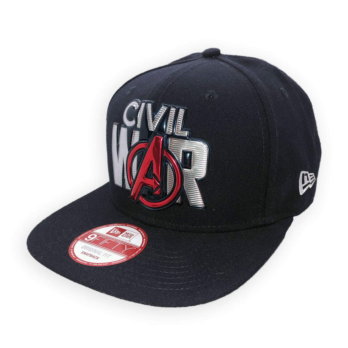 NEW ERA CAPTAIN AMERICA CIVIL WAR SNAPBACK CAP HAT 9FIFTY ORIGINAL ... 60ef5914d85c