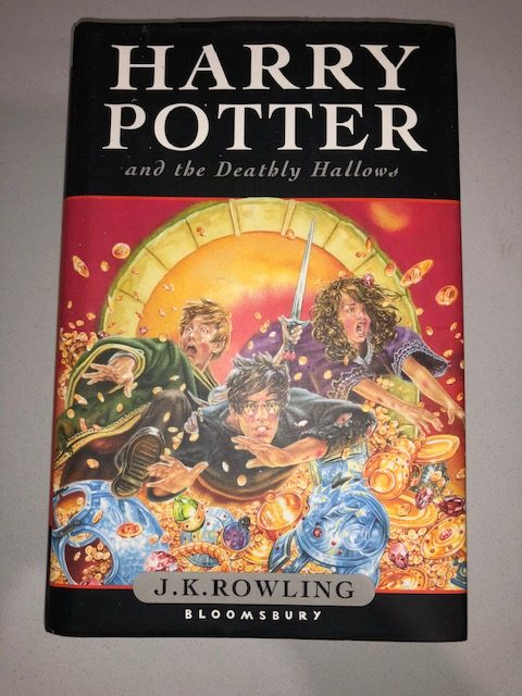 Harry Potter And The Deathly Hallows Jk Rowling Australian First