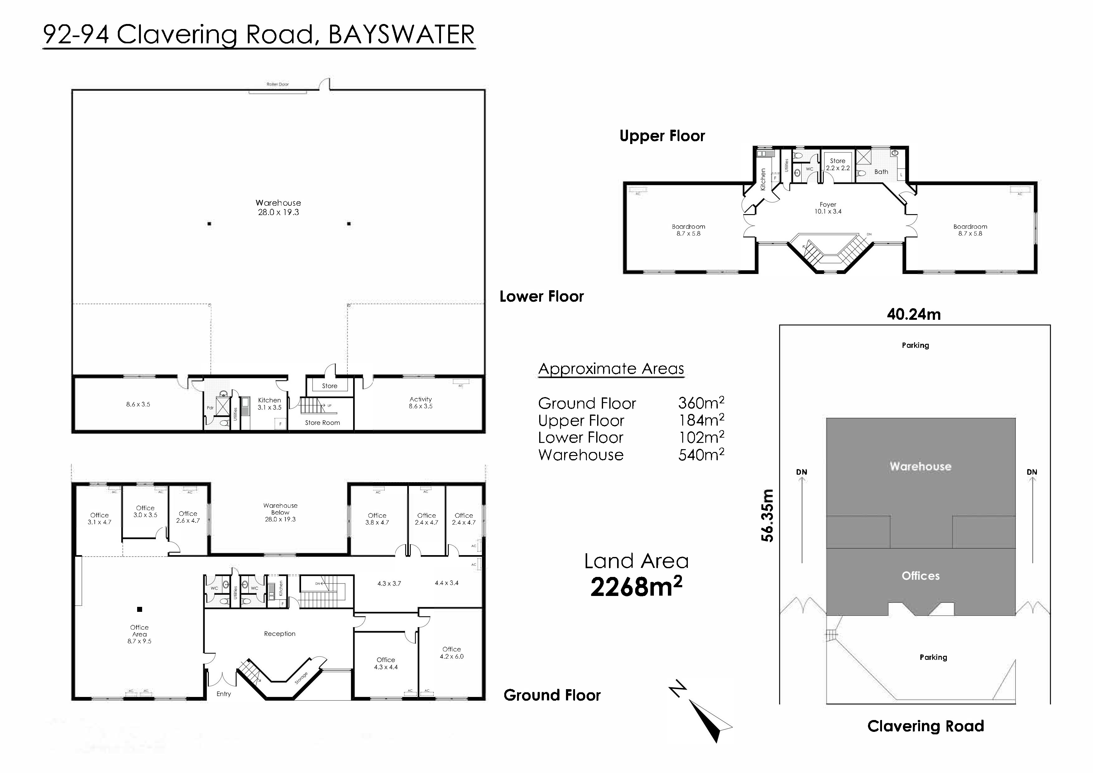 92 -94 Clavering Road Bayswater - Industrial For Rent - 21709109 - ACTON Central