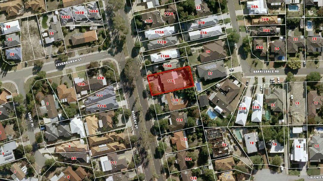 RISELEY STREET Ardross - Development Site For Sale - 19060083 - ACTON Applecross