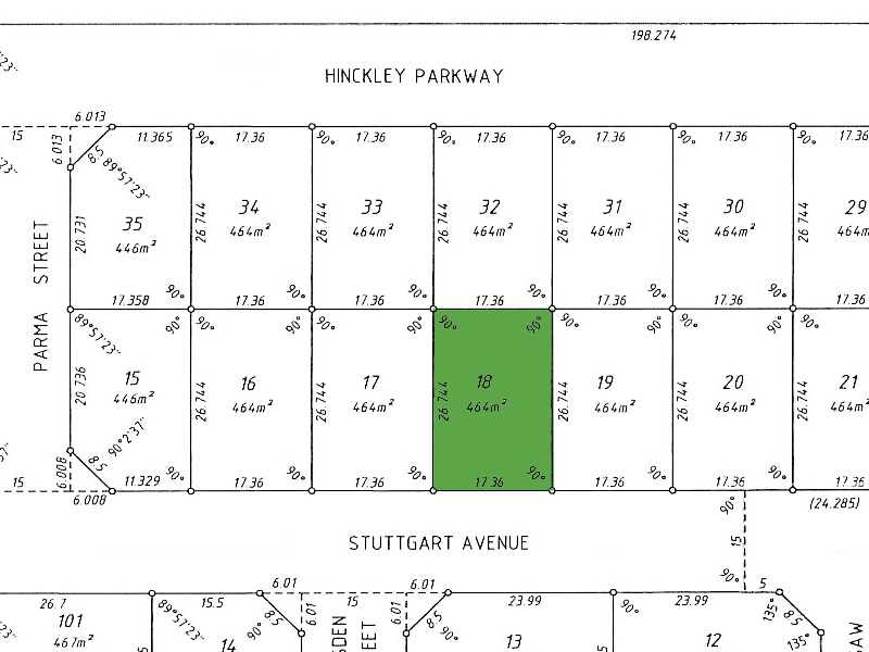 Lot 18 Stuttgart Avenue Hocking - Land For Sale - 19976387 - ACTON Projects