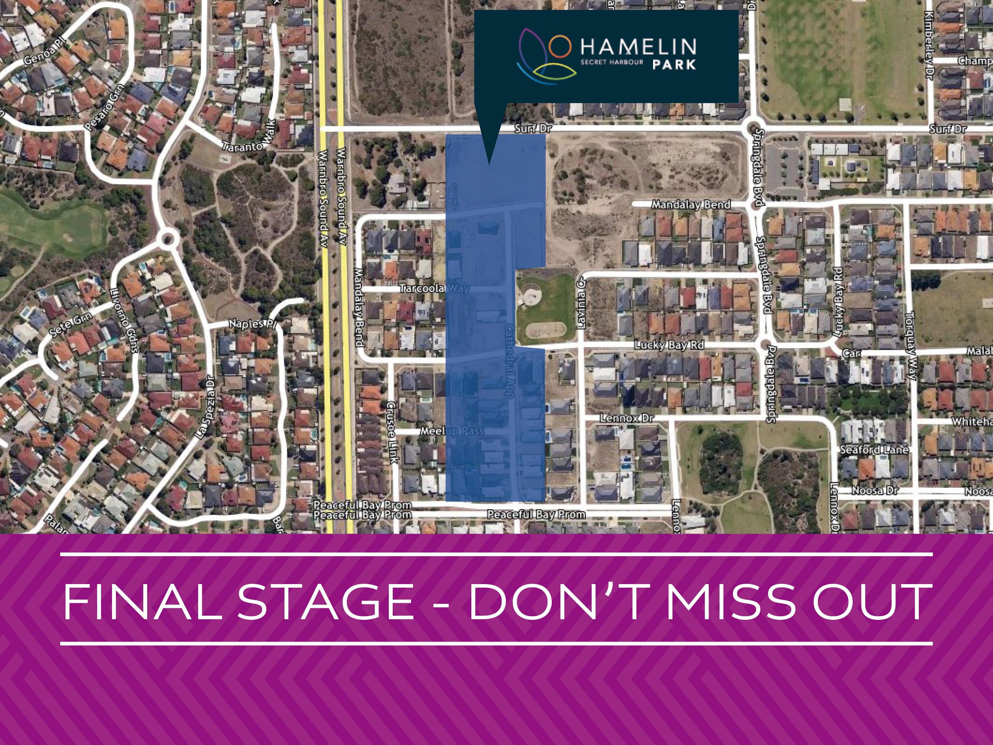 Estate - Hamelin Park Secret Harbour - Land For Sale - 21175114 - ACTON Projects