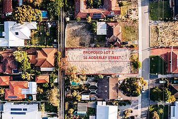 Property in MOUNT CLAREMONT, Lot PL 2 16 Adderley Street