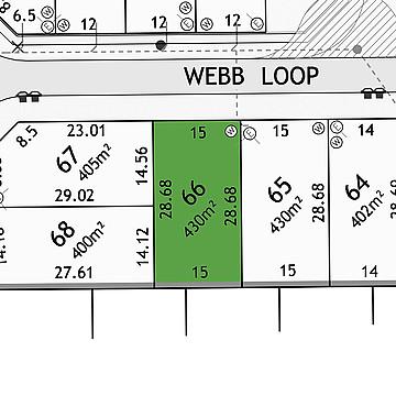 Property in HAYNES, Lot 66 Webb Loop