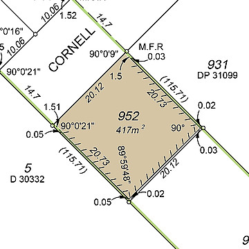 Property in EAST CANNINGTON, Lot 952 Cornell Place