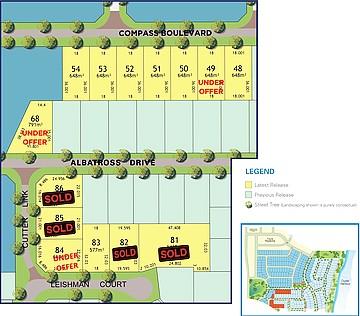 Proposed Lot 68 Albatross Drive