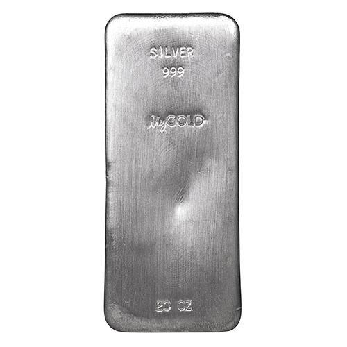 Take A Portfolio Position With 20oz Silver Bars