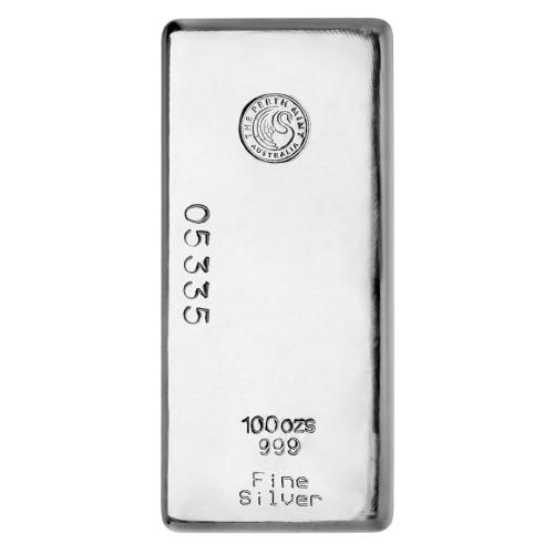 100oz-silver-cast-bar-perth-mint-nz