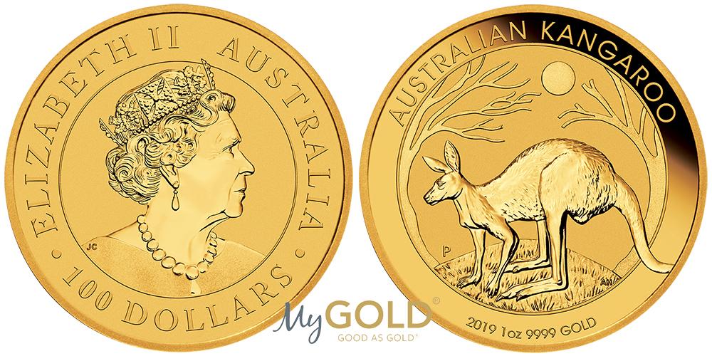 Buy 1oz Perth Mint Gold Kangaroo 2019 Coins