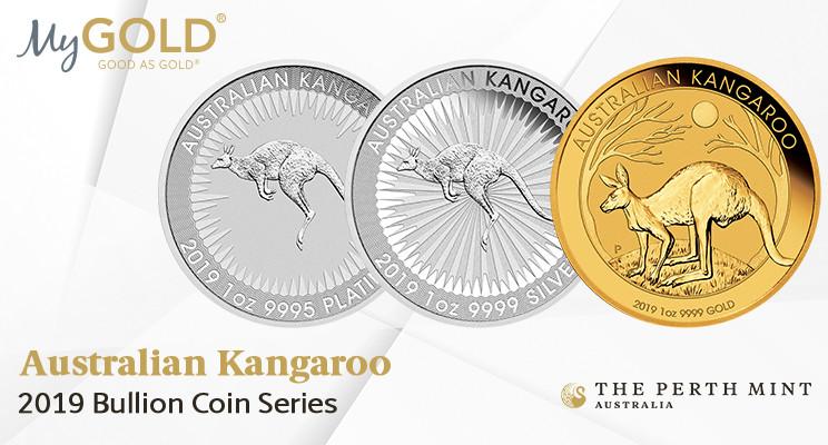 Perth Mint Gold, Silver, Platinum Bullion Series.