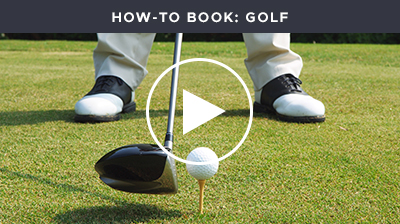 How to book Golf
