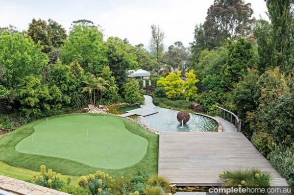 Lj hooker real estate plant diversity and design delights for Half acre backyard landscaping ideas
