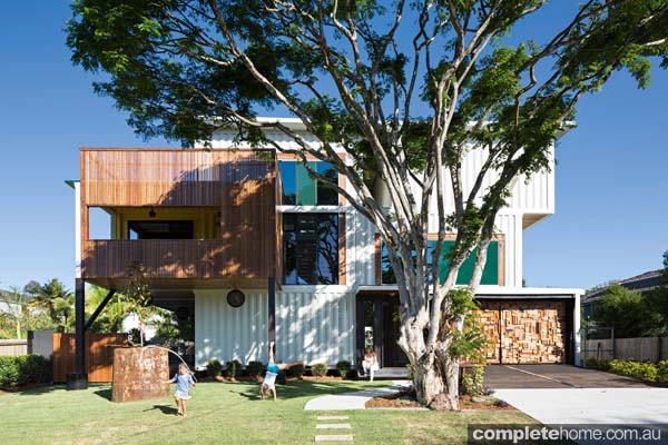 Lj hooker real estate grand designs australia shipping container house - Container homes queensland ...