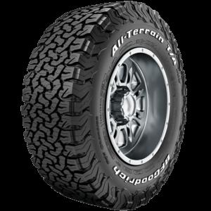 BFGoodrich All-Terrain T/A KO2 tyre.