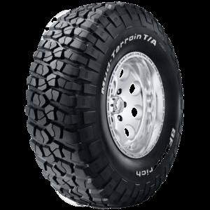 BFGoodrich Mud-Terrain T/A KM tyre.