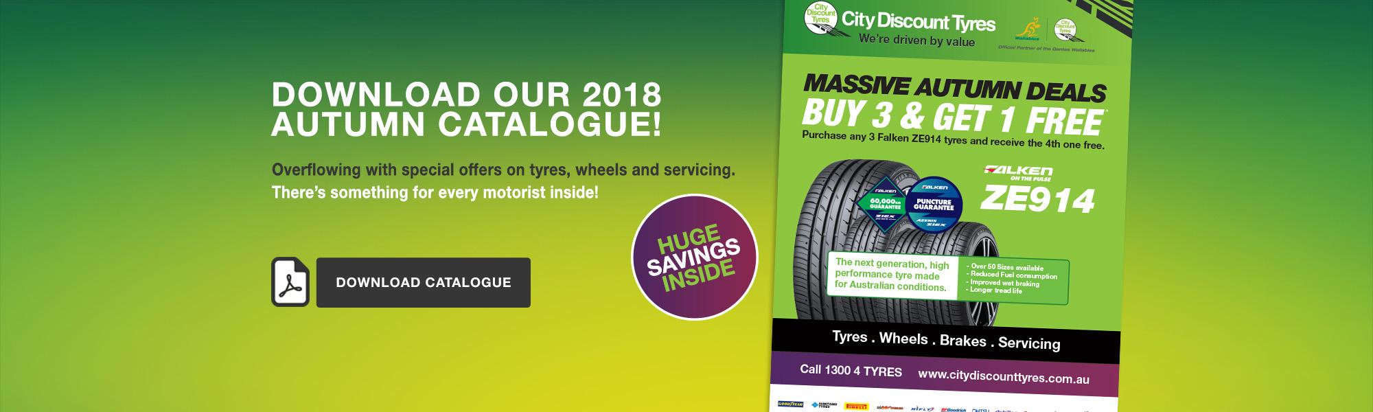 City Discount Tyres Autumn 2018 Catalogue