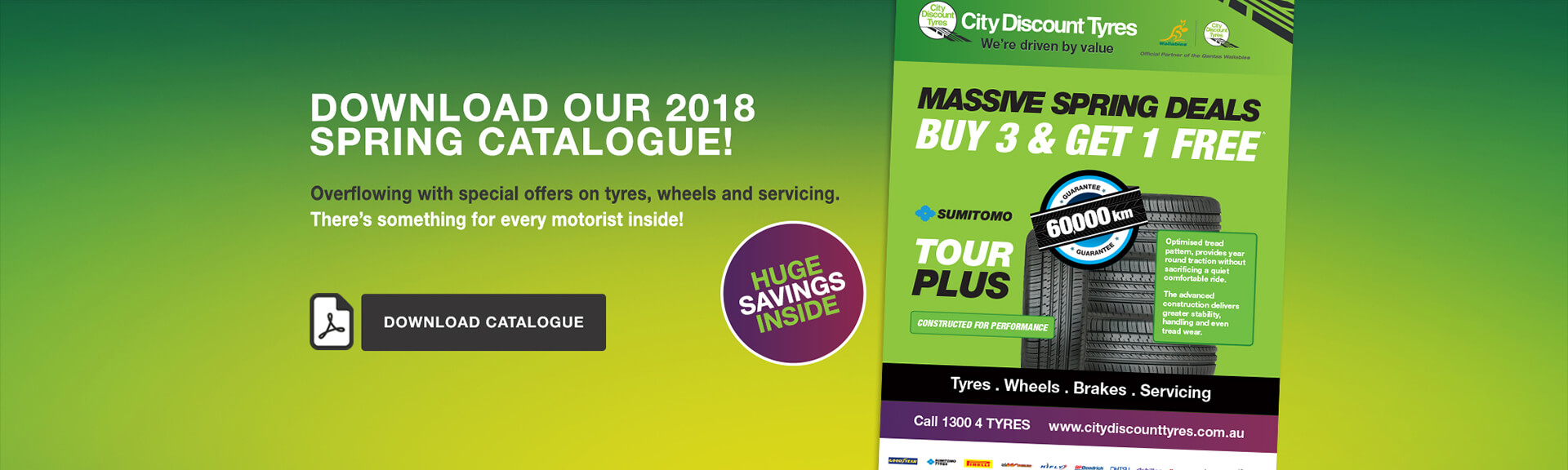 City Discount Tyres Spring Catalogue