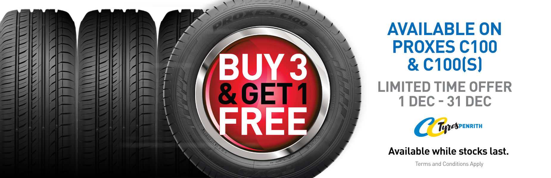 4 For 3 Toyo Tyres CC Penrith