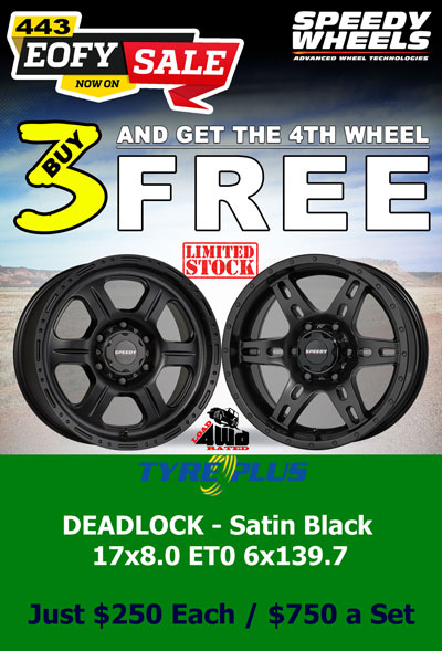 BUY 3 DEADLOCK WHEELS @ $250 EACH & GET THE 4TH ONE FREE!