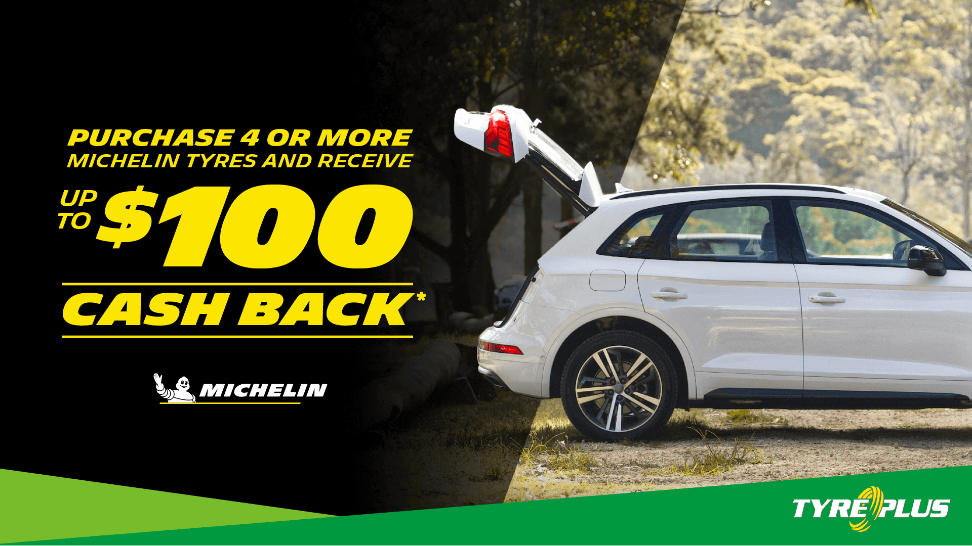 Michelin April Cashback Promotion