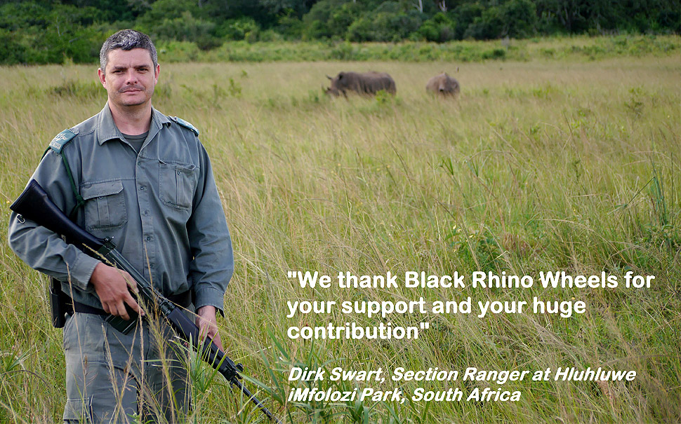Thank you from Hluhluwe National Park