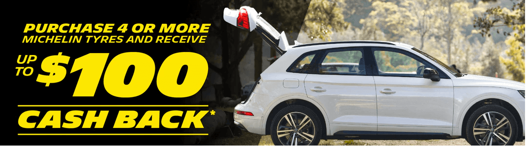 Michelin - Up to $100 Cashback